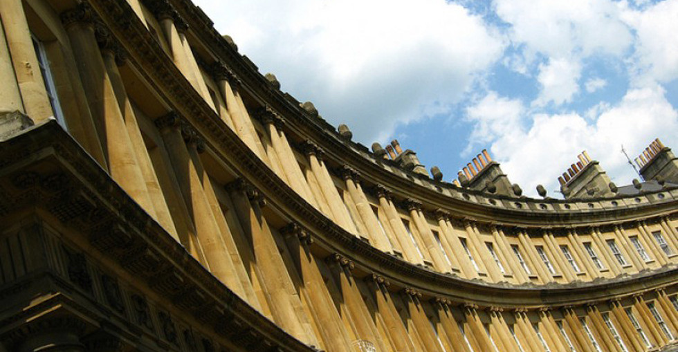 Heritage building in Bath, UK