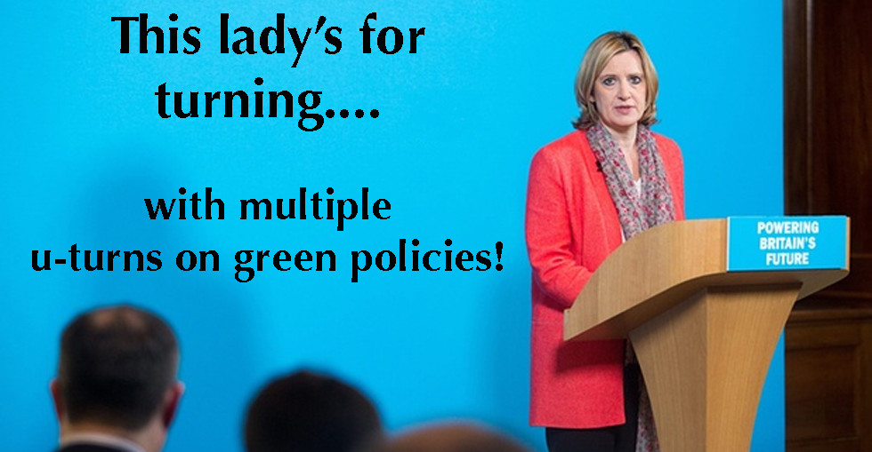 Conservative U-turns on Green Policies