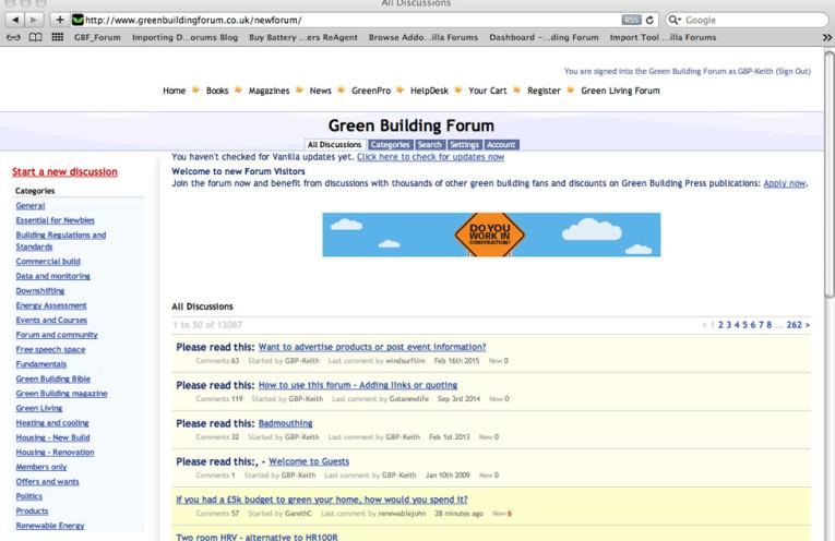 Green Building Forum