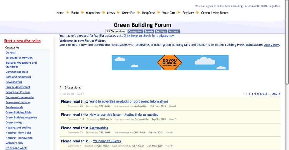 Green Building Forum