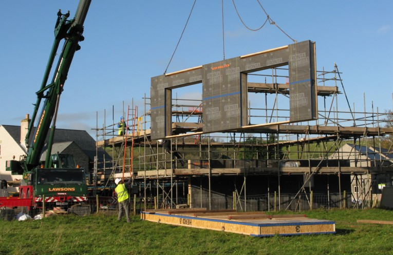 Stoneworks Garth - first certified passivhaus in Cumbria